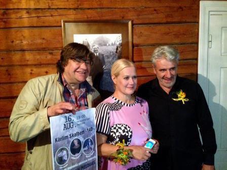 """Jānis Lūsēns, Kristīne Zadovska, Mārtiņš Vilsons """"Saulrietos"""" 16.09.2019."""