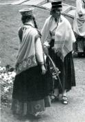 Margrieta Skalbe 1977.gada Dziesmusvētkos Viesturdārzā