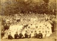 Vecpiebalgas Labdarības biedrības koris Pirmajos vispārīgajos latviešu dziesmu svētkos Rīgā, 1873.gadā