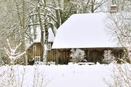 """Brāļu Kaudzīšu memoriālais muzejs """"Kalna Kaibēni""""; Foto: A. Ošiņš"""