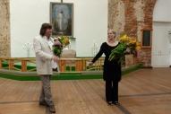 Jānis Lusēns un Kristīne Zadovska